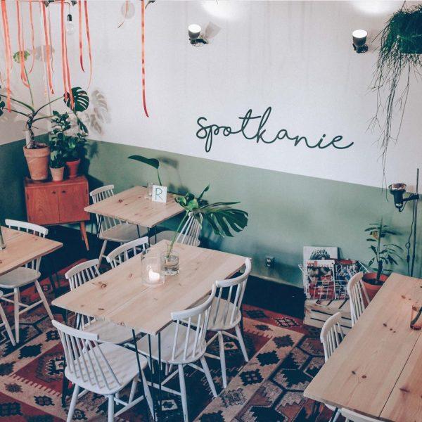 restauracja Spotkanie - wnętrze lokalu